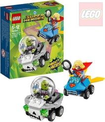 SUPER HEROES Mighty Micros: Supergirl vs. Brainiac STAVEBNICE 76094