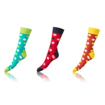 Ponožky CRAZY SOCKS 3ks BE481004