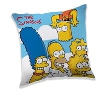 Polštářek Simpsons Family cloud 40x40 cm