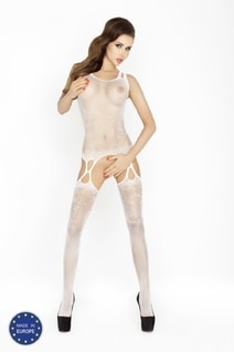 Bodystocking BS015 white