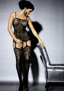 Výprodej Body Bodystocking F204