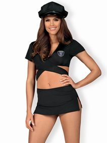 Svůdný kostým Police skirty set