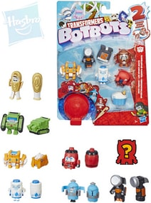 TRANSFORMERS BotBots 8 figurek DMC