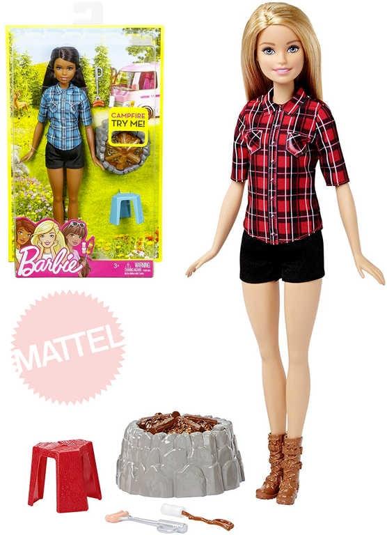 0e667aeeda28 BRB Panenka Barbie 32cm u táboráku set s doplňky Světlo Zvuk 2 druhy ...