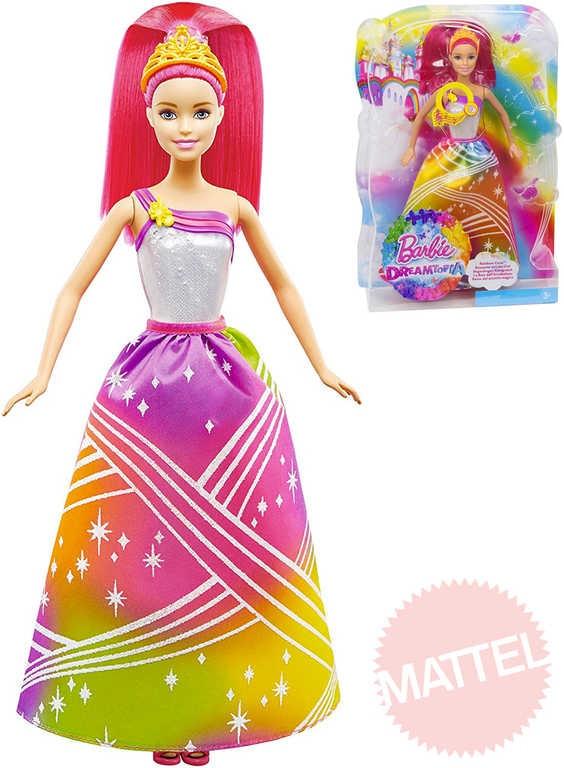 9b708c9962fd BRB Panenka Barbie princezna duhová na baterie Světlo Zvuk