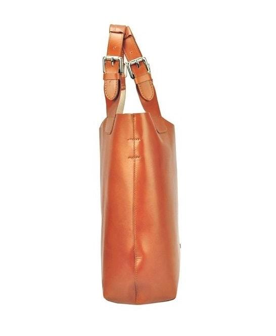 cbf5cfa23a Hnědá kožená dámská kabelka Patrizia Piu · Zvětšit. Předchozí  Další