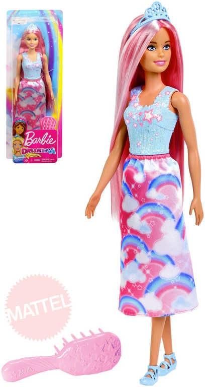 2a427958839c BRB Panenka Barbie dlouhovláska set s hřebenem Dreamtopia