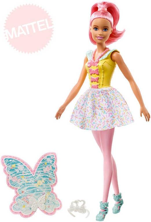 3234687d8346 BRB Panenka Barbie víla kouzelná Dreamtopia set s doplňky