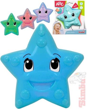 ebf53b7119a1 SIMBA Baby hvězdička 12cm do vody na baterie mění barvy Světlo