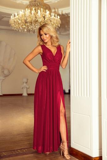 30831f83f153 Večerní dlouhé šaty - červené st-sa150re
