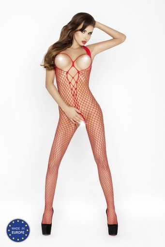 Bodystocking BS014 red