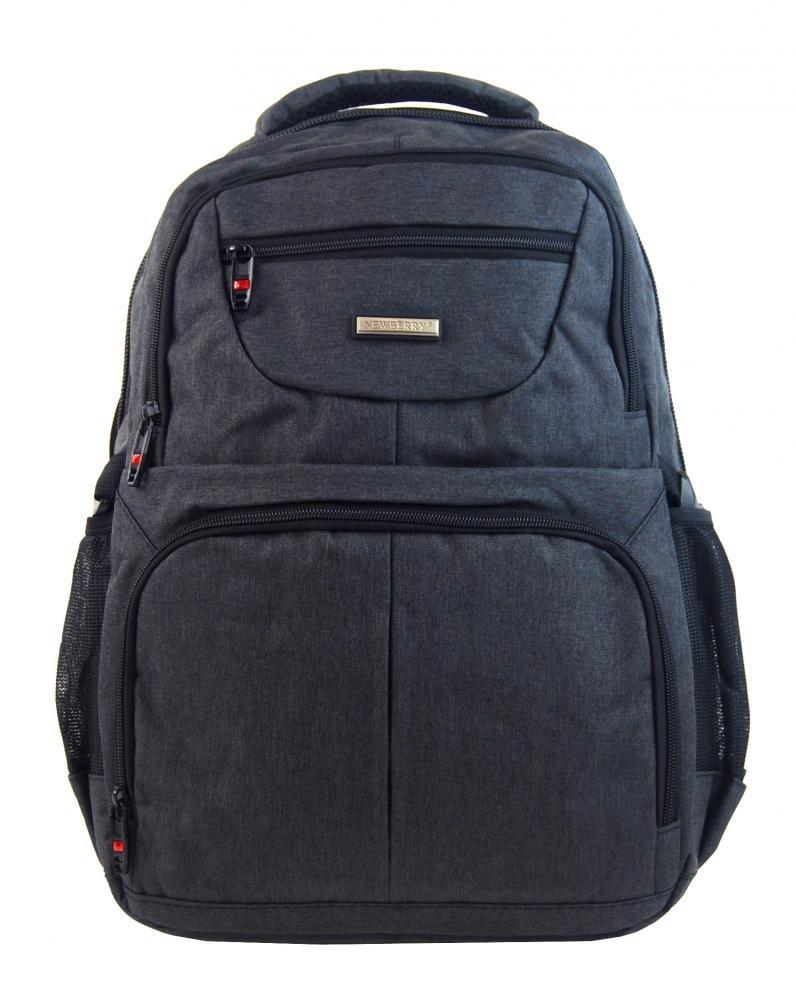 302e0b2d2a New Berry Elegantní polstrovaný školní batoh L18105 tmavě šedý ...