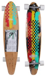 longboard Rasta Revolution skateboard, 42in