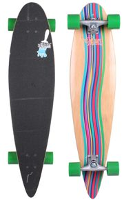 longboard Green Vortex skateboard, 39in