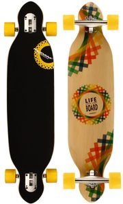longboard Criss Cross skateboard, 38
