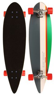 longboard Tropical Funk skateboard 36in