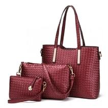 3f96004e75 Praktický lakovaný dámský kabelkový set 3v1 Miss Lulu červená