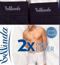 Boxerky COTTON BOXER 2 PACK BU848101