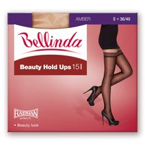 Punčochy Beauty Hold Ups 15 den BE280001