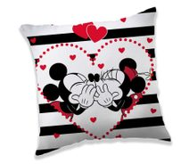 Polštářek Mickey a Minnie stripes 40/40