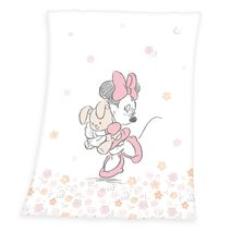 Soft fleece deka Minnie Polyester, 75/100 cm