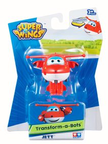 Super Wings - Transformuj Robota - Jett