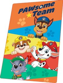 Fleece deka Paw Patrol Team Polyester, 100/150 cm