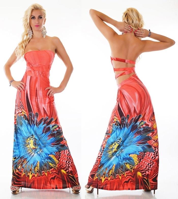 984dfc2ef5c0 Dlouhé letní šaty st-sa232ko ...