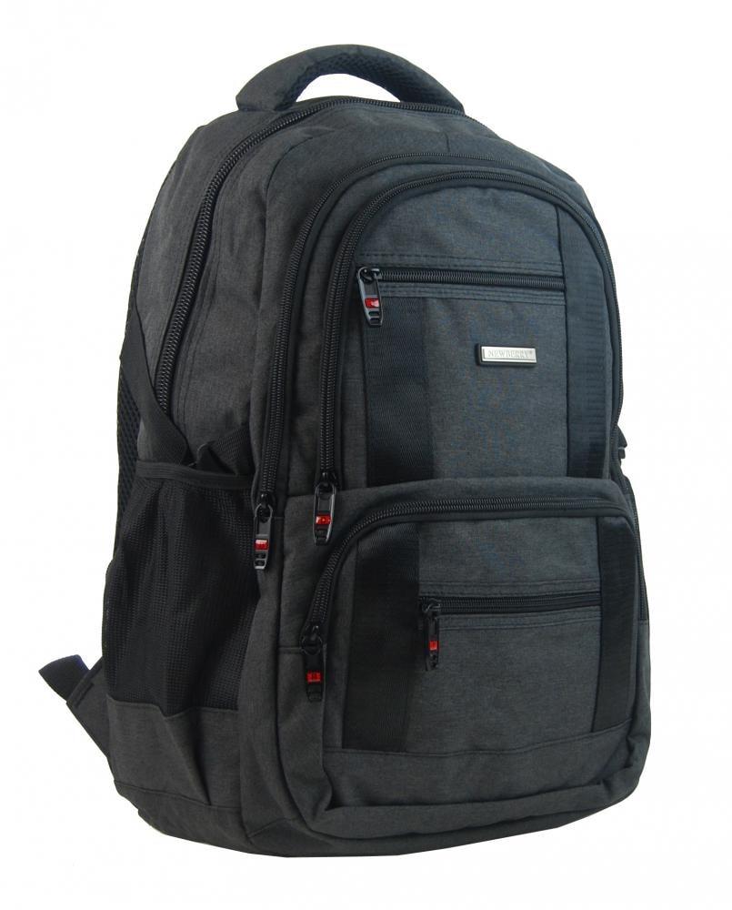 af775c17c New Berry Elegantní polstrovaný školní batoh L18106 černý | New ...