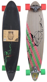 longboard Jungle Stripes skateboard, 39