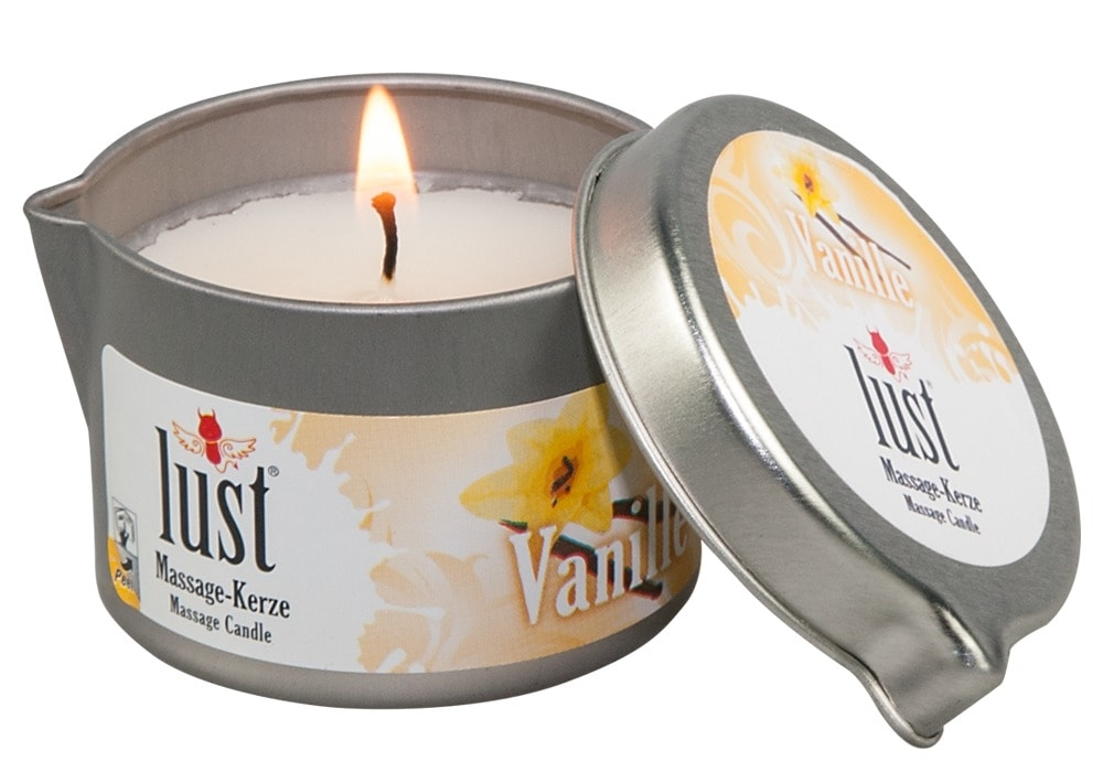 MVW Body Candle Massagekerze Vanille 50ml
