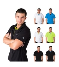 Man's POLO SHIRT nanosilver ACTIVE
