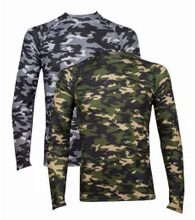 Man's thermal T-shirt Camouflage
