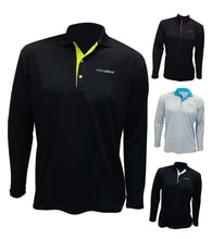 Man's POLO SHIRT, T-shirt with collar nanosilver GOLF ACTIVE - long sleeves