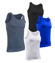Man's thermal Sleeveless top nanosilver