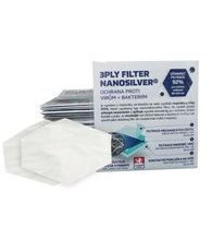 Nanofiber three-ply filter 6C with silver 3PLY FILTER nanosilver® - 2pcs in a package