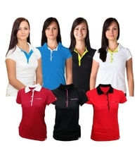 Woman´s POLO SHIRT nanosilver ACTIVE