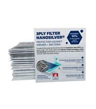 Nanofiber three-ply filter with silver 3PLY FILTER nanosilver® (rectangle)- 2pcs in a package