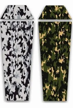 Antibacterial thermo liner TO SLEEPING BAG - CAMO