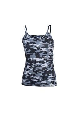 Woman´s thermal singlet nanosilver CAMOUFLAGE