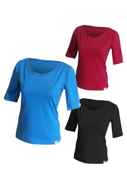 Woman´s t-shirt nanosilver CLASSIC with extended sleeves