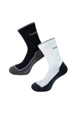 Sports thermo socks with molecules of silver