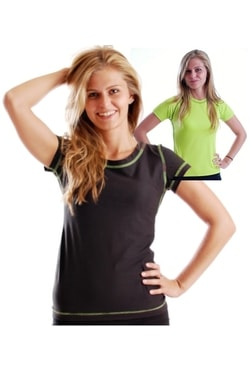 Woman´s T-shirt with stitching nanosilver coolmax DAKAR
