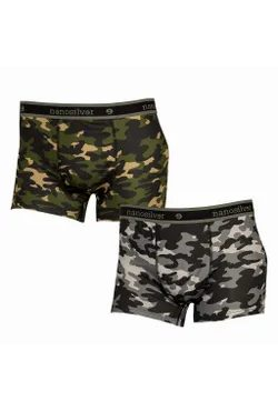 Thermal boxer briefs nanosilver CAMOUFLAGE
