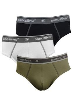 Men's briefs with elastic nanosilver CLASSIC