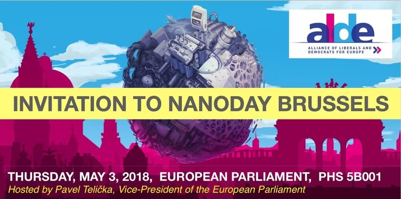 our brand nanosilver at the event NanoDay in Brussels