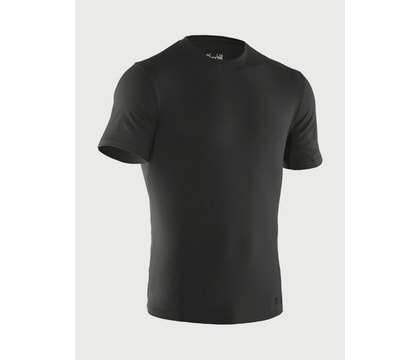 Tričko UNDER ARMOUR® Charged Cotton® - černé