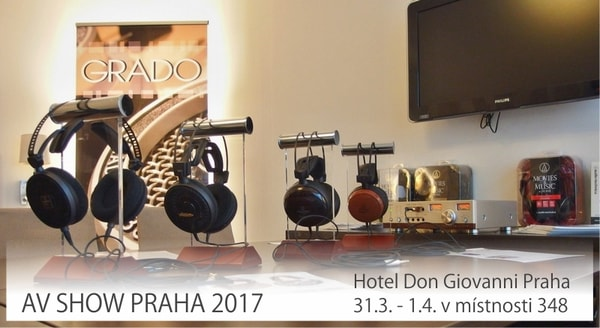AUDIGO.CZ na Audio Video Show 2017