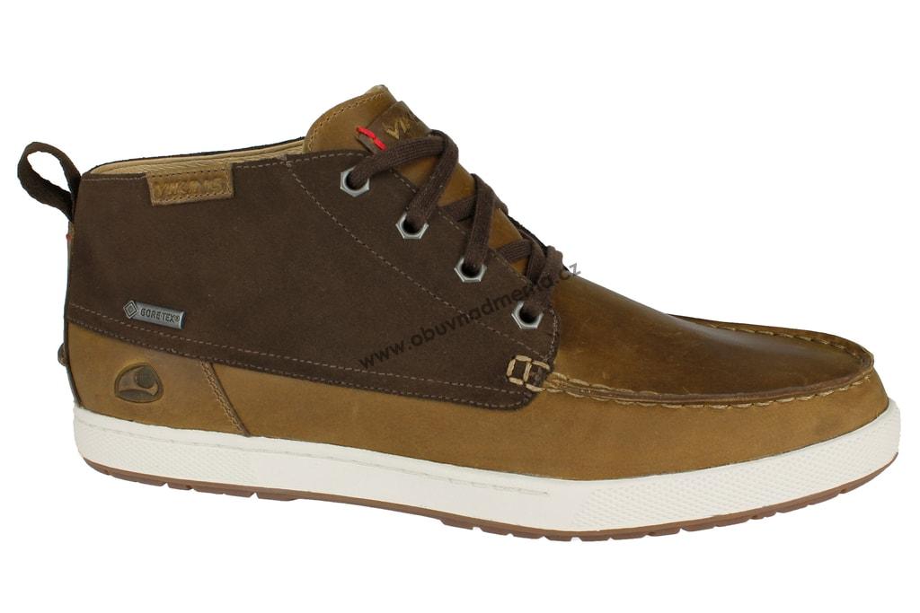 ddadc36564 Kotníkové boty Viking s GORE-TEX membránou hnědé - Kotníkové