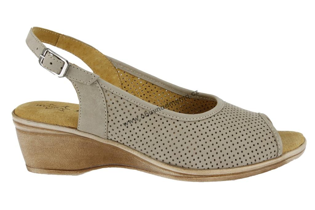 eefe330bfdd8 Široké sandály Axel béžové AX2246 - Sandály